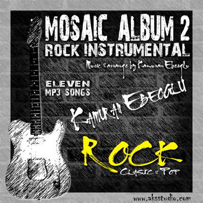 Product picture MOSAIC ALBUM 2 Rock instrumental by  Kamuran Ebeoglu